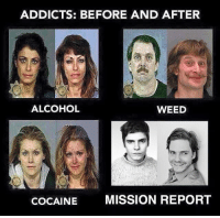 ~Deadpool: ADDICTS: BEFORE AND AFTER  ALCOHOL  WEED  COCAINE  MISSION REPORT ~Deadpool