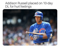 Make way for Murphy! Cubs EverybodyIn: Addison Russell placed on 10-day  DL for hurt feelings Make way for Murphy! Cubs EverybodyIn