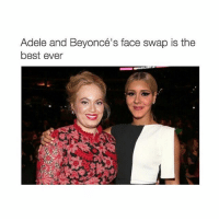 im screaming 😂: Adele and Beyoncé's face swap is the  best ever im screaming 😂