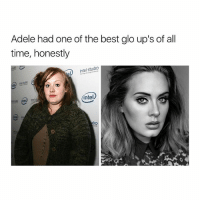 this gives me so much hope: Adele had one of the best glo up's of all  time, honestly  Intel studio  intel  dio this gives me so much hope
