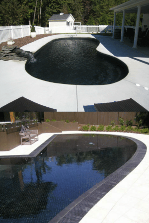 "Bad, Facts, and Friends: adenas-el-amin: facts-i-just-made-up:  gabriel-patches-titanfeather:  sixpenceee:  These swimming pools with black tiles are my aesthetic.   Make the black tiles out of that black material that absorbs all light and swim over the void.  Fun fact about Vantablack- Because it absorbs all light, it heats up very fast. If exposed to direct sunlight, it takes in all the UV and heat and contains them, and can reach heats well over 212°F, the boiling point of water. So if you did coat the pool in that material, the water would boil as soon as the sun touched it, killing everyone swimming in it. But that's not all. The flash boiling of an entire pool of chlorinated water would release the chlorine as gas, which would kill everyone within a 200ft radius of the pool. And it doesn't end there. The release of chlorine gas combined with the heat of the black tiles would be more than sufficient to fuse the boiled hydrogen ions with the chlorine, creating an explosive reaction with the nitrogen in the air. So shortly after everyone in the pool boils and everyone around the pool dies of chlorine gas poisoning, the region would explode with the force of a small atomic bomb (8kt for a pool like those pictured above), leveling about 50 city blocks. You'd think that would be bad enough, but get this- Such chemical explosions expel gamma rays. Gamma rays ionize hematite, which is the mineral from which the black material mentioned is made. This creates Scopohyoscpnol, a compound known as ""The Zombie Drug"" because it essentially erases the brain and induces cannibalistic tendencies in its victim. It can be transmitted through saliva, infecting all who are bitten within hours. So basically, if you did have Vantablack tiles in your pool, you would boil your friends, poison your neighbors, nuke your city, and condemn the globe to a zombie plague. But to be fair, it would look pretty cool.   username. read the username."