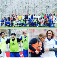 Adidas, Fifa, and Memes: adidas  adidas The stars were out this morning in a snowy Zurich, with past legends & former players featuring in a match at FIFA HQ. Also donning their boots were members of the FIFA Council. ❄️⚽🙌 FIFA football legends TheBest brrrr zurich switzerland