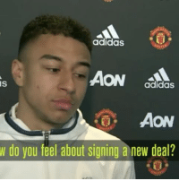 LINGARD REACTS TO NEW UNITED CONTRACT 🔴🔴🔴 . mufc manchesterunited ggmu mourinho davesaves reddevils oldtrafford darmian mkhitaryan ibrahimovic bailly pogba waynerooney martial anderherrera rashford philjones daleyblind lingard ashleyyoung valencia lukeshaw smalling daviddegea juanmata manutd14_ manutd14_id: adidas  AON  IS  adidas  AON  w do you feel about signing a new deal? LINGARD REACTS TO NEW UNITED CONTRACT 🔴🔴🔴 . mufc manchesterunited ggmu mourinho davesaves reddevils oldtrafford darmian mkhitaryan ibrahimovic bailly pogba waynerooney martial anderherrera rashford philjones daleyblind lingard ashleyyoung valencia lukeshaw smalling daviddegea juanmata manutd14_ manutd14_id