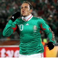 Adidas, Fifa, and Memes: adidas Happy 44th birthday to Cuauhtémoc Blanco! One of the greatest Mexican footballers of all time, he has enjoyed a fantastic career, appearing at three FIFA World Cups and scoring once in each. A key member of the El Tricolor side that won the FIFA Confederations Cup on home soil in 1999, where he received the adidas Silver Shoe and Silver Ball awards, Blanco was also part of Mexico teams that won consecutive CONCACAF Gold Cups, and participated in three Copa Américas. HappyBirthday FelizCumpleaños Blanco Temo Mexico WorldCup ConfedCup @miseleccionmx