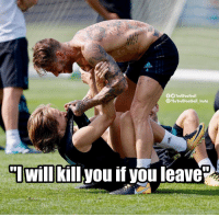 """Adidas, Memes, and The Real: adidas  OTrollFootball  The TrollFootball Insta  """"IWill killyou if you leave"""" The real reason why Modric didn't join Inter https://t.co/R8nhgydX37"""