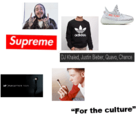 Adidas Supreme DJ Khaled Justin Bieber Quavo Chance VFI PERCEPTION TOUR for  the Culture  bc9d75bc062b