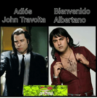 John Travolta, Espanol, and International: Adios  Bienvenido  John Travolta Alberta no #RanaMexicana #RanaPatriota