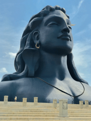 Foundation, Isha Foundation, and Coimbatore: Adiyogi statue, Isha Foundation, Coimbatore