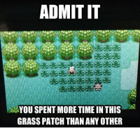 Did you though? 👀 - Sent in by FunnyPokemonAmbassador @Imreallyfeelingit ! Thanks! ___________ pokemon nintendo anime 90s geek deviantart cosplay charmander comics pikachu meme playstation dankmemes pokemoncards followme gamer charizard pokemontcg dank pokemongo naruto friend lol disney nintendoswitch switch: ADMIT IT  YOU SPENT MORE TIME IN THIS  GRASS PATCH THAN ANY OTHER Did you though? 👀 - Sent in by FunnyPokemonAmbassador @Imreallyfeelingit ! Thanks! ___________ pokemon nintendo anime 90s geek deviantart cosplay charmander comics pikachu meme playstation dankmemes pokemoncards followme gamer charizard pokemontcg dank pokemongo naruto friend lol disney nintendoswitch switch