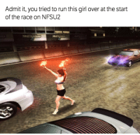 Cars, Girls, and Run: Admit it, you tried to run this girl over at the start  of the race on NFSU2 Ah NFS Underground 2 memories... Car Throttle Gaming