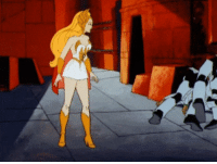 Tumblr, Blog, and Powerful: adorablehonor:  powerful-she-ra:   vixieblues:  PLEASE LET THERE BE A SCENE LIKE THIS IN THE REBOOT  Ha!! THIS IS GOLD   I wheezed so hard I scared my mice don't do this to me