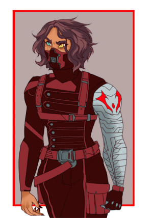 """adoralai:  For everyone who tagged my last Avengers AU post with""""Catra should be the Winter Soldier…""""Yes you are absolutely damn right. Here you go-enjoy.Second character in my She-Ra: Avengers AUFirst one here: adoralai:  For everyone who tagged my last Avengers AU post with""""Catra should be the Winter Soldier…""""Yes you are absolutely damn right. Here you go-enjoy.Second character in my She-Ra: Avengers AUFirst one here"""