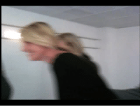 """Chill, Fucking, and Gif: adriennecode:  no-chill-at-all:  harperandmary:  bionicwasok: i think about this video a lot  Wtf is going on    Hey y'all film crew member here. For those of you asking, they're running like that to stay out of the shot. For us crew we TRY OUR HARDEST TO NOT GET FILMED. IT'S IMPORTANT. It's like playing the floor is lava but with a side of""""you're fired"""" if you lose too many times. We'll do anythING to not be seen. Duck around corners, dive under tables, jump in the bushes, assume fetal position on the floor, climb trees, get in the robot, hide in the trojan horse, become a vampire, you fuckin name it. My fav game while watching a movie is""""guess where the crew is hiding in this shot"""" it's great fun you should try it. The only problem in this particular shot is there is nowhere to hide except behind the camera which IS MOVING REALLY FAST. Why they didn't just leave the room I have no idea. it could be any number of reasons. Time, lack of proper equipment, need to supervise/direct, etc. The real question is how the hell did Gaga not fucking lose it seeing a herd of film nerds scamper desperately in circles behind the camera"""
