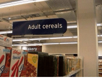 Hoes, Porn, and Rice: Adult cereals  Baker 50 Shades of Grain Porn Flakes Special D Rice Frisky Captain munch Cheery Hoes https://t.co/NGV42dcpXO