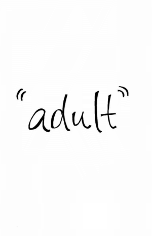 Adult and R: adult  (r