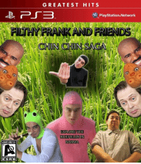 This looks like an awful game.: ADUUSONDY 18.  ESRB  GREATEST HITS  PlayStation Network  EXPLORE THE  RICE FIELDS IN  NARNIA This looks like an awful game.