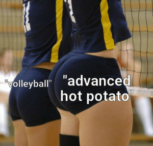 advanced hot potato or volleyball: advanced hot potato or volleyball