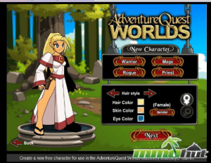 Friends, Sorry, and Ally: AdventureQuest  WORLDS  New Character  verntu  Warrior  Mage  Rogue  Priest  ( Hairstyle |  Hair Color  Skin Color  Eye Color  (Female)  Gender  Next  Back  Create a new free character for use in the AdventureQuest Wonas mUSSIVey runtiprayo I know this isn't the place for this but if you were ever friends with anyone called adjustedentree or lilredridinghoody please message me I'm sorry I was such a terrible ally when I was younger but I understand what you were talking about now please if your out there I miss you so much