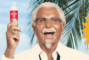 Advice, Kfc, and Tumblr: advice-animal:  KFC is giving out free fried-chicken-scented sunscreen to ruin the beach forever.