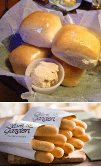 Olive Garden, Hood, and Texas Roadhouse: aen  ITALIAN KITCHEN Rt for yeast rolls from Texas Roadhouse like for Olive Garden breadsticks