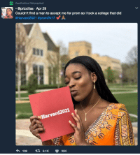 """College, Http, and Wholesome: Aesthetics Retweeted  . @prizxillas Apr 29  Couldn't find a man to accept me for prom so I took a college that dic  #Harvard2021 #prom2k17 e"""" A  %Harvard2 021 <p>Wholesome Prom Pic via /r/wholesomememes <a href=""""http://ift.tt/2qAoiT9"""">http://ift.tt/2qAoiT9</a></p>"""