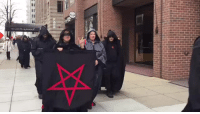 "Bad, Church, and Heaven: aethersea:  leinton:  supaslim:  lexxgotthejuice:  localstarboy:  Trump is so bad that SATANISTS are protesting him. Devil worshipers are trying to protect us from this man lmao this real life  Lmaooo yo this seemed so unreal  okay okay but listen satanists WOULD be anti-Trump satanists are, for the most part, just secular humanists (mostly atheists) with a flair for the dramatic. They are, on average, very left-leaning. The Satanic Temple in particular is a great organization. They don't believe religious organizations should be tax exempt, so they voluntarily pay taxes. They also sell merch and give a good chunk of the proceeds to things like Planned Parenthood and legal funds that fight for division of church and state. Fuck, this is straight from their website:  ""The mission of The Satanic Temple is to encourage benevolence and empathy among all people. In addition, we embrace practical common sense and justice.""   satanism is not bad or evil  A bit more to what satanism is about: it's about putting Earthly needs above heavenly needs. It's about doing right without concern for any concept of going to heaven or being rewarded. They aren't devil worshipers. They never have been. They believe strongly that deities are created by humans, rather than being our creators.  source"