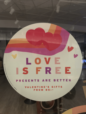 Affection, love and trust is free, how can that be better than buying stuff you don't need, to show someone you care for them?: Affection, love and trust is free, how can that be better than buying stuff you don't need, to show someone you care for them?
