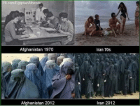 """Be Like, Club, and Love: Afghanistan 1970  Iran 70s  Afghanistan 2012  Iran 2012 laughoutloud-club:  Europe just be like """"oh that looks like enrichment our people will love that…"""""""