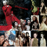 Memes, Dracula, and Ford: afilm trivia1000 In Francis Ford Coppola's 1992 film Bram Stoker's Dracula, the 3 brides were played by Monica Bellucci, Michaela Bercu, and Florina Kendrick ● Florina is the vampire bride with the small tiara. She is the only one out of the 3 actresses who is actually of Romanian descent. She also worked as a consultant at (American Zoetrope) for Romanian culture in Dracula. Florina's only other work in film was the 1995 film (With Criminal Intent), where she played a character named Rebecca Constanzo ● Michaela @michaelabercu Bercu is the vampire bride with the long red hair. Dracula is Michaela's only acting credit ● Monica Bellucci is the vampire bride with the jeweled headdress. In addition to Dracula, Monica also co-starred with (Keanu Reeves) in 2 Matrix films playing a character named Persephone MonicaBellucci MichaelaBercu FlorinaKendrick Movietrivia Filmtrivia TheBridesOfDracula BridesOfDracula DraculasBride DraculasBrides Bellucci AbrahamStoker BramStokersDracula FrancisFordCoppola FordCoppola BramStoker GaryOldman KeanuReeves Coppola EikoIshioka Nosferatu VladTheImpaler Vampirism CountDracula PeriodPiece PeriodDrama CostumeDrama CostumeDesign FilmProduction CostumeDesigner FilmProduction Directors