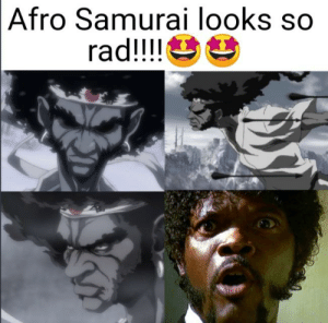 Afro Samurai Looks So Rad Sorry But I Knew That I Had To Do