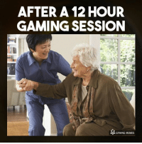 Too tired: AFTER A 12 HOUR  GAMING SESSION  MGAMING MEMES Too tired