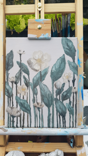 First, Painting, and Now: after a couple of days I'm finally done my first oil painting now to let it dry for a couple more