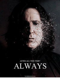 <3   Lady Snape: AFTER ALL THIS TIME?  ALWAYS <3   Lady Snape