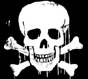 Mean, Skull, and Time: After all this time, this skull from the lockers C flag is still bugging me, what does it mean!?