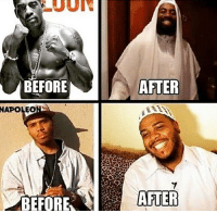 """How Many Times, Memes, and Express: AFTER  BEFORE  NAPOLEONIC  BEFORE  ATER Our Prophet salla Allahu alaih wa sallam said: every Son of Adam is a sinner. The best of sinners are those who often repent. . - If you stumble and fall, you are human! Never give up no matter how many times you fall. Always get back on your feet. . - Shaytan says, """"your sins are too much to be forgiven."""" Allah says, """"if your sins were to reach the sky, I would still forgive you."""" . - Allah will not punish you for sinning as long as you are repenting and expressing sincere remorse. . Allah will punish you for not trying! I ask Allah Subhanahu wa ta'la to forgive us all and keep us steadfast on the deen. Ameen 🌺 ▃▃▃▃▃▃▃▃▃▃▃▃▃▃▃▃▃▃▃▃ @abed.alii 📝"""