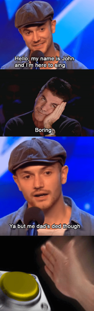 After binge-watching some Britain's Got Talent, I think I finally cracked the code: After binge-watching some Britain's Got Talent, I think I finally cracked the code