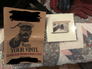 After I bought a CD, they want my vinyl: After I bought a CD, they want my vinyl
