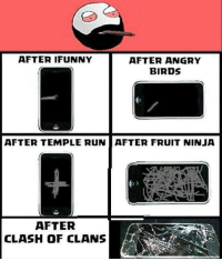 belikebro: AFTER IFUNNY  AFTER ANGRY  BIRDS  AFTER TEMPLE RUN AFTER FRUIT NINJA  AFTER  CLASH OF CLANS belikebro