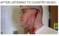 listen: AFTER LISTENING TO COUNTRY MUSIC: listen