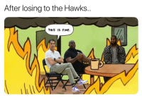 Lakers lost to one of the worst teams.   (Via ageneyrojr): After losing to the Hawks..  THIS IS FiNe. Lakers lost to one of the worst teams.   (Via ageneyrojr)