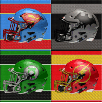 Afternoon Gothamites! If you're watching the Super Bowl right now, I hope you're enjoying it with family and friends! To celebrate we will have a few Batman football related posts along with our Barbara Gordon celebration! Here are some DC Comics Football helmet designs by Chris Creamer! Which helmet is your favorite? Thanks for following and we'll have more Batman media soon, so stay tuned! [Photo Source: http:-bit.ly-2kwRV5J] ✌🏼💙🎨🏈: Afternoon Gothamites! If you're watching the Super Bowl right now, I hope you're enjoying it with family and friends! To celebrate we will have a few Batman football related posts along with our Barbara Gordon celebration! Here are some DC Comics Football helmet designs by Chris Creamer! Which helmet is your favorite? Thanks for following and we'll have more Batman media soon, so stay tuned! [Photo Source: http:-bit.ly-2kwRV5J] ✌🏼💙🎨🏈