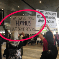 Memes, Stfu, and Hummus: AGAINST  WE GAVE YOU  HUMMUS  AND ACIGM  VP org  HAVE SOME RESPEC. Muslims also invented coffee and marching bands so stfu (@betches_sup)