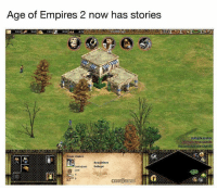 Memes, 🤖, and Age of Empires: Age of Empires 2 now has stories  own cente  byzantine  2880/2880  Felix 6 Eventually