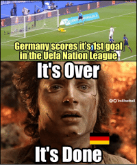 Memes, Germany, and Goal: AGRICOL  Germany scoresit's1st goal  inthe Ueta Nation League  It'sOver  TrollFootball  It's Done Germany fans right now https://t.co/Bj7e7crBDF