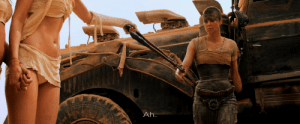 [Detail] In Mad Max: Fury Road, when Max wanted his blood-tube chain cut, since Furiosa can't properly use bolt cutters with one arm, he knew she would use the bolt cutters maliciously, so he made another girl (The Dag) cut the chain: Ah. [Detail] In Mad Max: Fury Road, when Max wanted his blood-tube chain cut, since Furiosa can't properly use bolt cutters with one arm, he knew she would use the bolt cutters maliciously, so he made another girl (The Dag) cut the chain