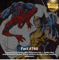 Who do you like better, Spider-Man or Wolverine? - marvel superhero facts marvelfacts supervillain rocketracoon spiderman marveluniverse anime marvelstudios xmen jeremyrenner avengers comics mcu marvelart marvelcomics teamcap civilwar teamironman ironman avengers guardiansofthegalaxy logan captainamerica deadpool wolverine captainamericacivilwar ===================================: AHEAD  BO  Fact #760  In Astonishing Spider-Man Wolverine Vol. 1, Spider-Man  and Wolverine became blood brothers during a time traveling  adventure. Who do you like better, Spider-Man or Wolverine? - marvel superhero facts marvelfacts supervillain rocketracoon spiderman marveluniverse anime marvelstudios xmen jeremyrenner avengers comics mcu marvelart marvelcomics teamcap civilwar teamironman ironman avengers guardiansofthegalaxy logan captainamerica deadpool wolverine captainamericacivilwar ===================================