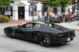 Ferrari, Time, and Ferrari Testarossa: Ahead of its time, A 1987 Ferrari Testarossa