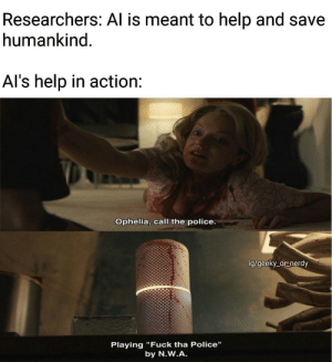 AI in action.: AI in action.