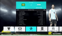 Tumblr, Blog, and Game: Ai  Starting Lineup  ALISSON  9  E MAS  SANEOA  t11  Durandil67  This is a montage impossible to have it in the current game welovegamingz:PES becoming even more realistic