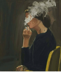 Anna, Tumblr, and Blog: aiastelemonian:Smoke by Anna Bjerger